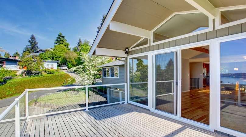 sliding patio door for the summer
